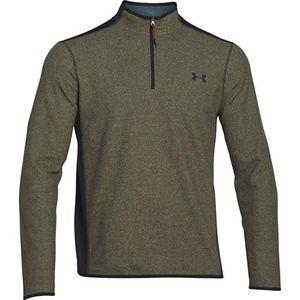 Under Armour Mens Fleece 1/4 Zip Shirt Green Small